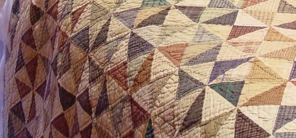 Home Spun Patchwork Quilt