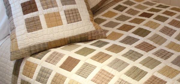 Simple Blocks Patchwork Quilt