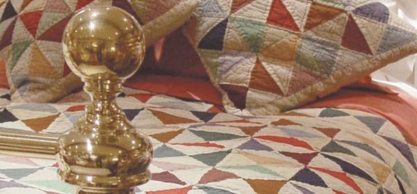 Solid Magic Patchwork Quilt