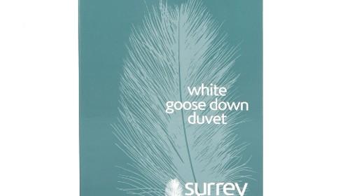 White Goose Down – 6 tog, 10.5 tog, 12 tog or 13.5 tog