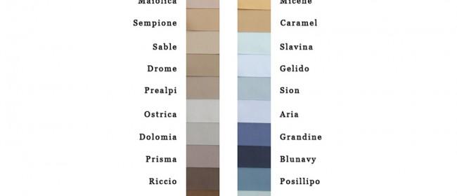Ravello Colour Choice