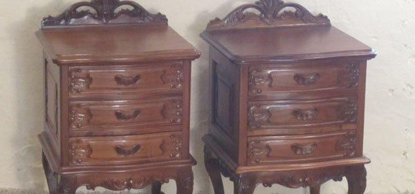Pair Bedside Tables RBT1
