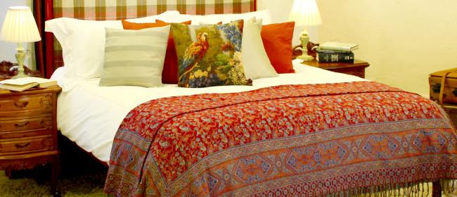 Upholstered Tartan Bed – TAR1