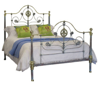 Blue Verdigris Bed