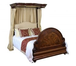 Antique Wooden Half Tester Beds