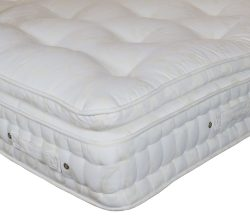 Norfolk Pillow Top Mattress in Cream Damask