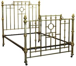 All Brass Double Antique Bed