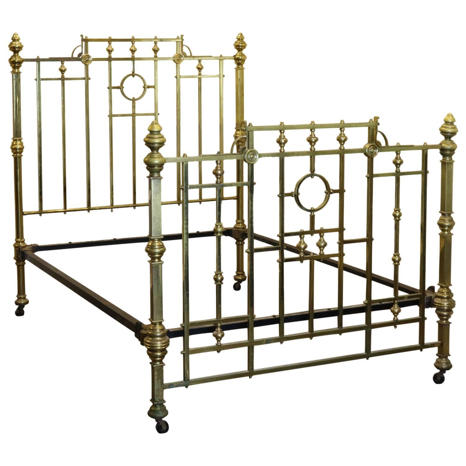 Edwardian All Brass Bed Md38