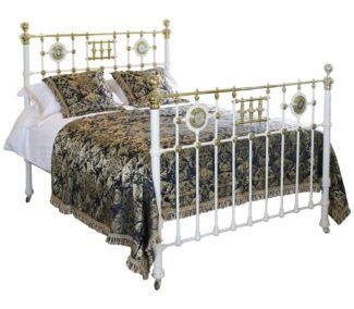 Decorative Brass and Iron Bed