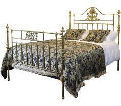 MK109 ornate brass bed