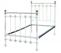 Single Hand Painted Antique Bed