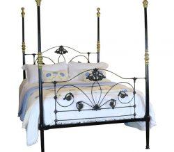 Antique Cast Iron Four Poster Beds