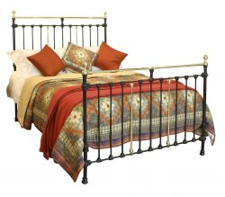 Black Brass and Iron Bed, WK129