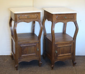 Pair of bedside tables