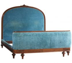 Upholstered Antique Wooden Beds