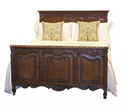 Oak Panelled Bed - WD23