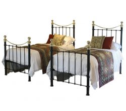 Pair of antique beds