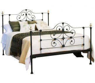Green Antique Bed