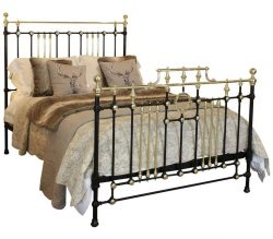Antique Brass and Iron Bed MK151