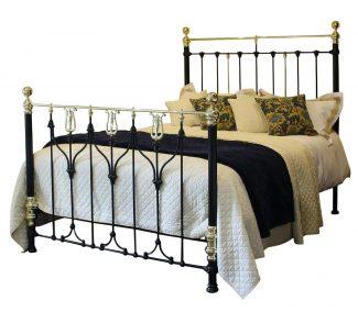 Art Nouveau Antique Bed