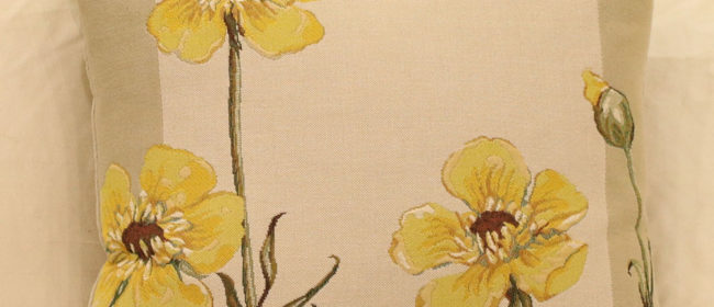 Tapestry Cushion – Buttercups
