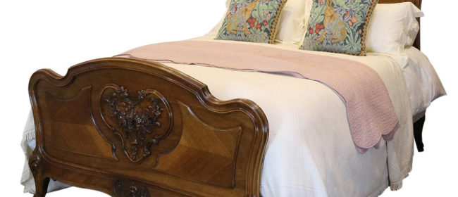 Louis XV Style Bed – WK129