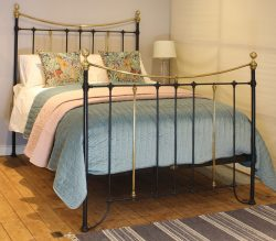 5ft-Black-Brass-and-Iron-Curved-Top-Rail-MK216-1