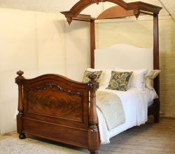 5ft-Mahogany-Half-Tester-Antique-Bed-WHT2