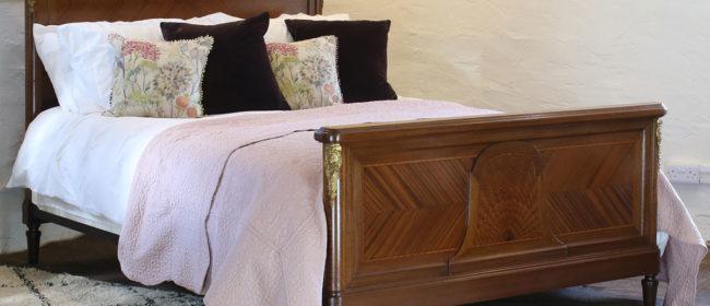 French Empire Mahogany Bed WK135