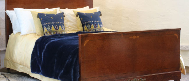 French Empire Antique Bed WK134