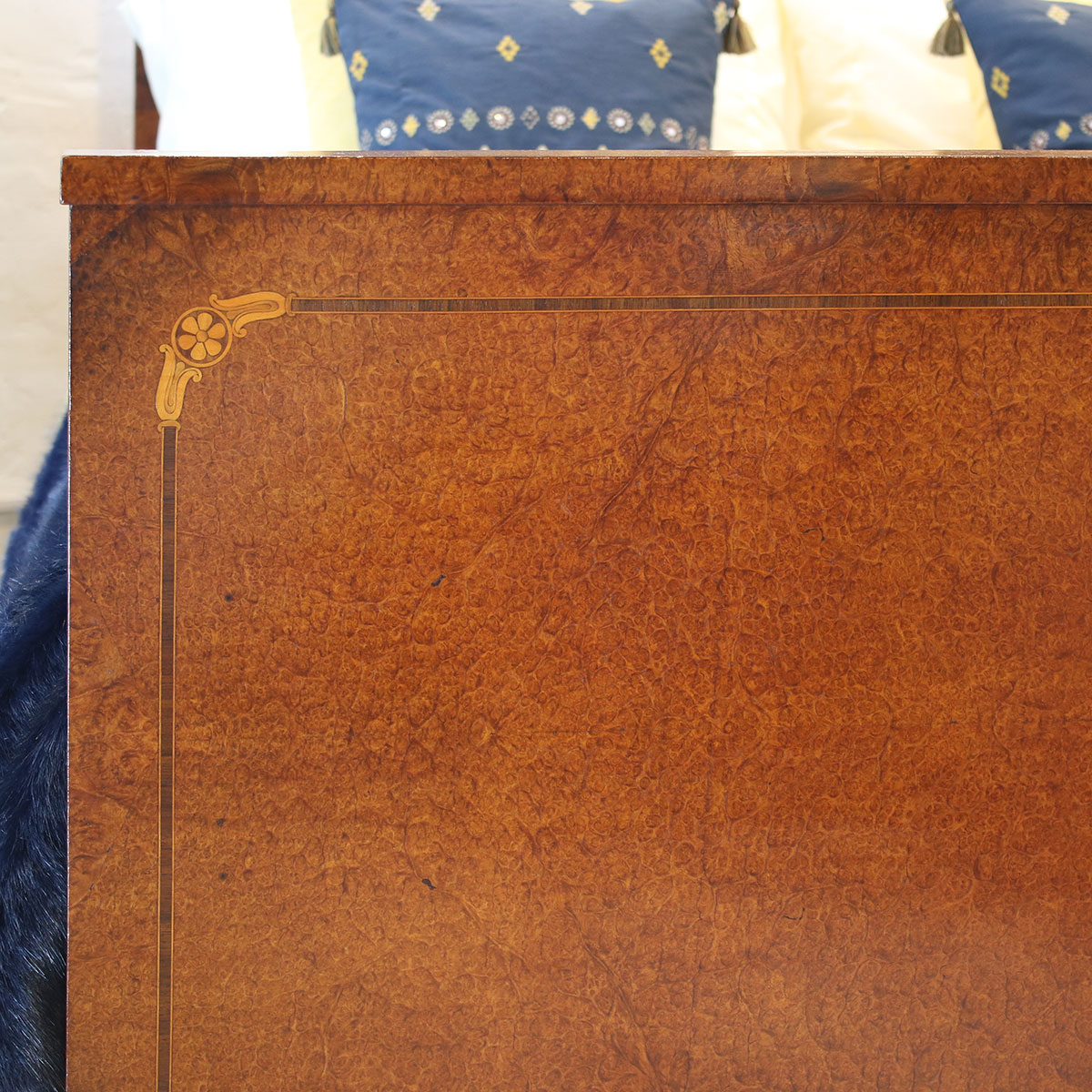 5ft-Wide-Empire-Antique-Bed-WK134