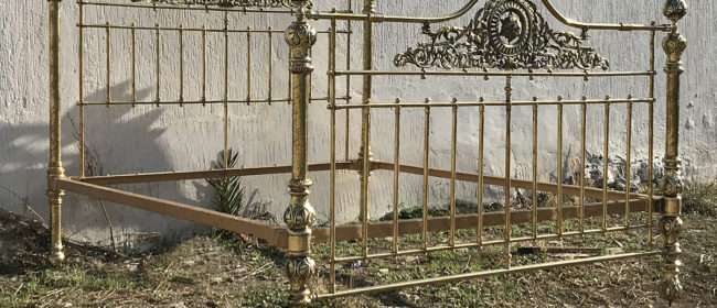 All Brass Antique Bed MSK64