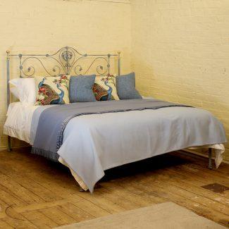 6ft Wide Verdigris Bed