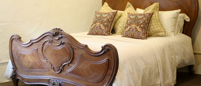 Louis XV King Size Antique Bed WK145