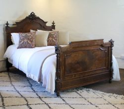 5ft-Renaissance-Antique-Bed-WK146
