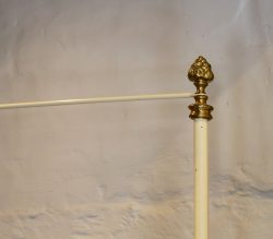 Cream-Four-Poster-Single-Antique-Bed-MS47