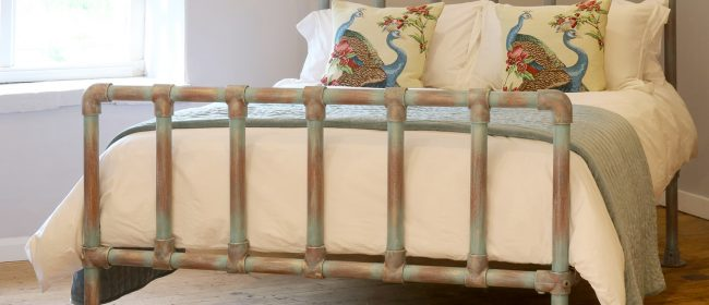 Recycled Scaffold Bed – SCAF1