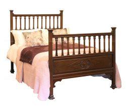 Edwardian Mahogany Bed