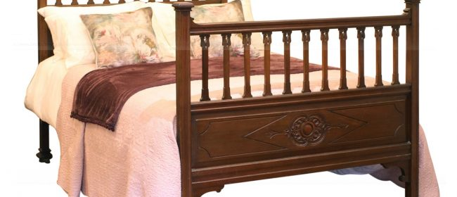 Edwardian Double Antique Bed WD38