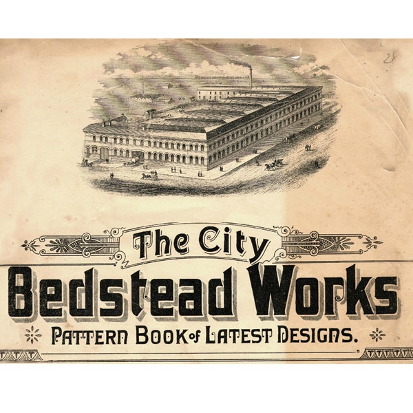 Bedstead Factory, Circa 1880