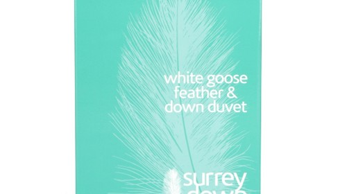 White Goose Feather and Down – 10.5 tog or 13.5 tog
