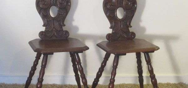 20% Off – Matching Pair of Chairs C1