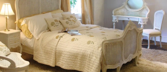 Versailles Cream Bed – VER1
