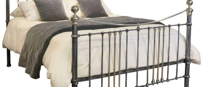 Charcoal Bed with Nickel Plating – MK124