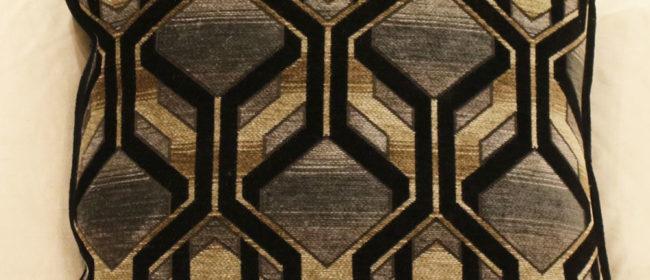 Tapestry Cushion – Art Deco