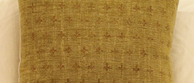 Tapestry Cushion – Fleur De Lys (mini)