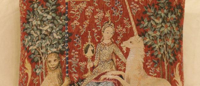 Tapestry Cushion – Sight