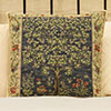 Tapestry Cushion – Tree of Life Blue