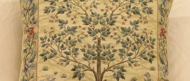 Tapestry Cushion – Tree of Life Light