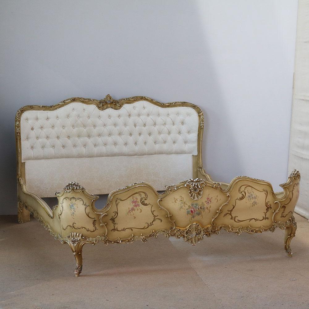 Wide Italian Bed